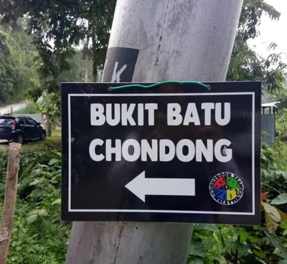HIKING BUKIT BATU CHONDONG, KUALA LUMPUR
