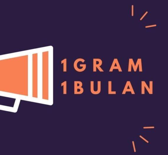 TIPS SIMPAN 1 GRAM 1 BULAN