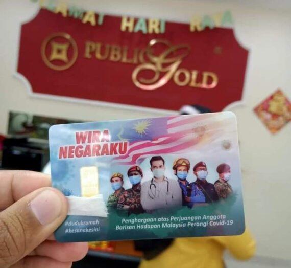 GOLD BAR PUBLIC GOLD WIRA NEGARAKU