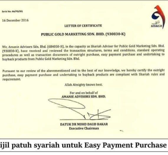 EASY PAYMENT PURCHASE (EPP) PATUH SYARIAH?