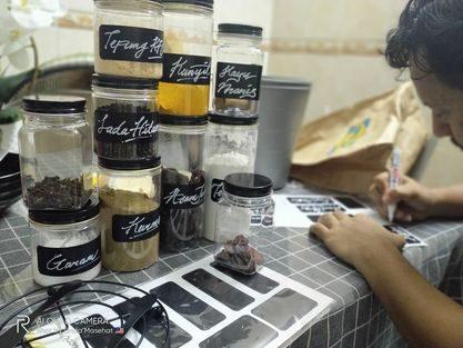 DIY BOTOL REMPAH KEDAI NINSO & ECOSHOP