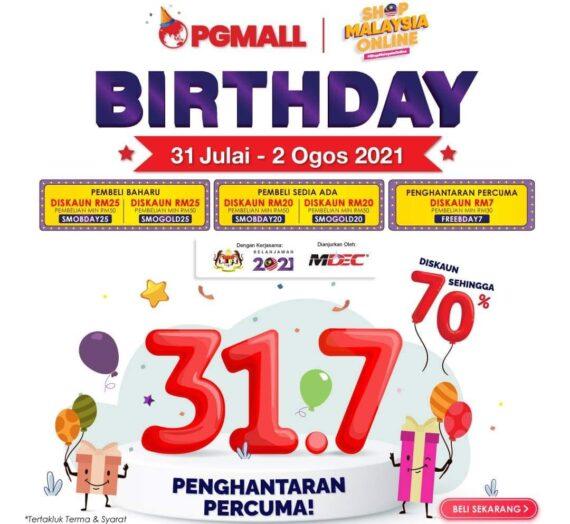 PGMALL BIRTHDAY 2021
